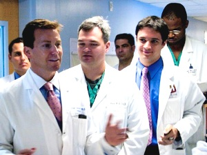 Pronovost with group